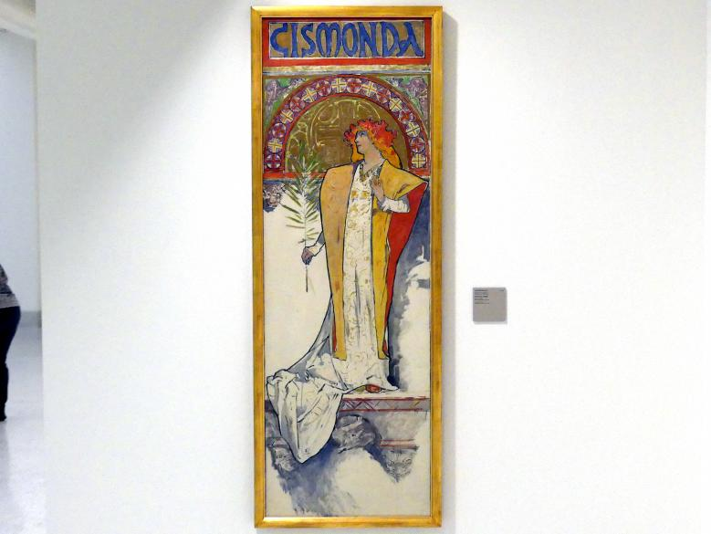 Alfons Mucha: Gismonda, 1894
