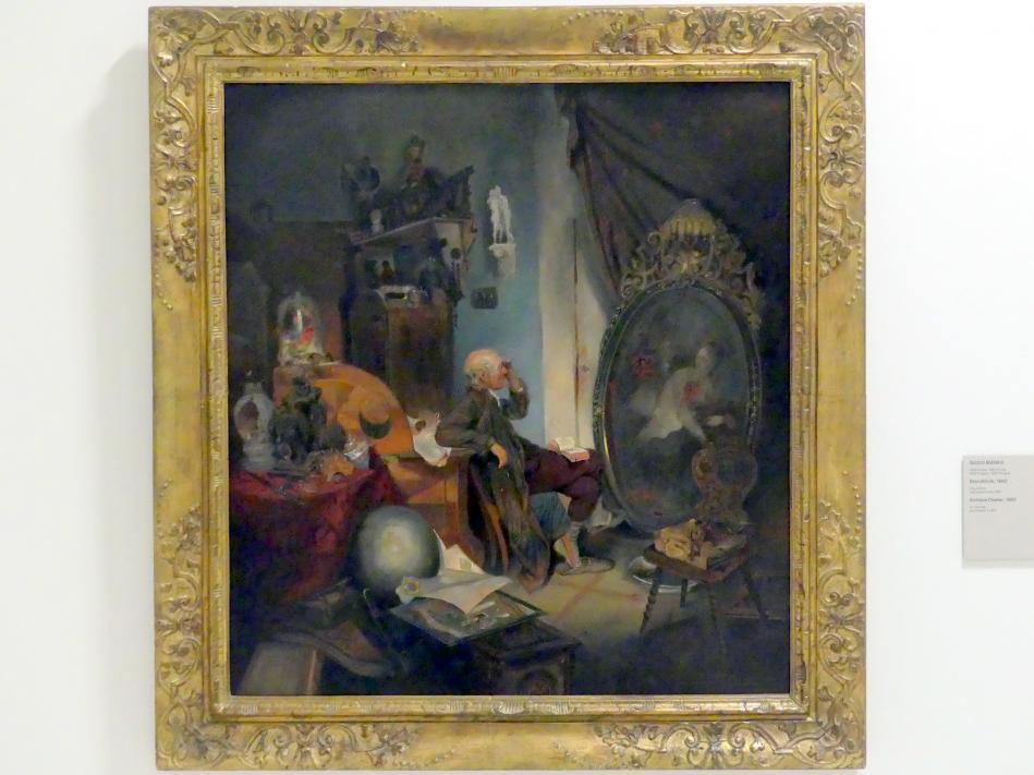 Quido Mánes: Antiquitätenhändler, 1862