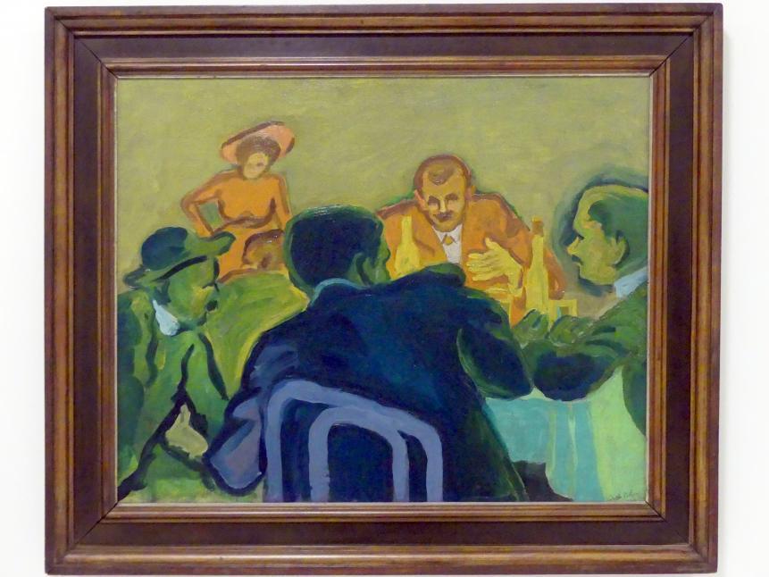 Bohumil Kubišta: Spieler, 1909