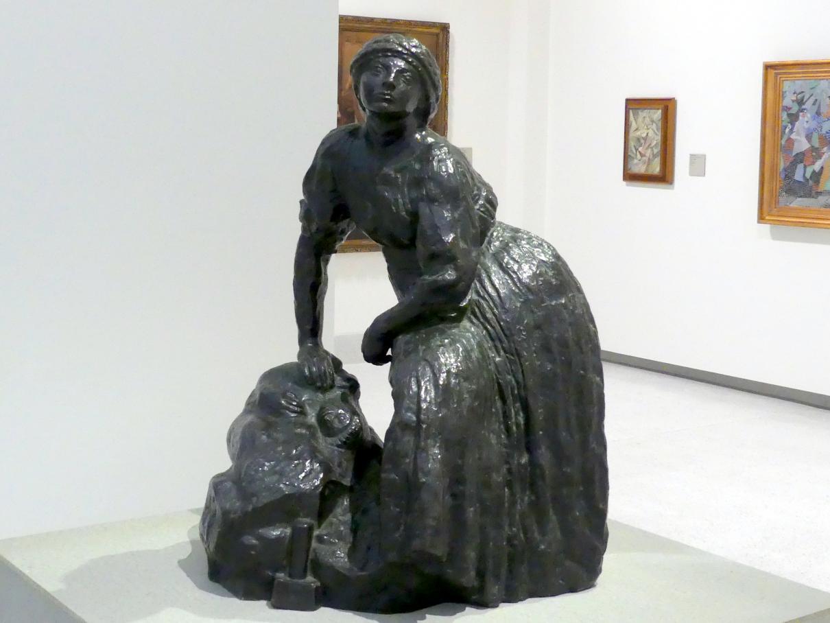 Antoine Bourdelle (Émile-Antoine Bourdelle): Ruhende Bildhauerin, 1905 - 1908