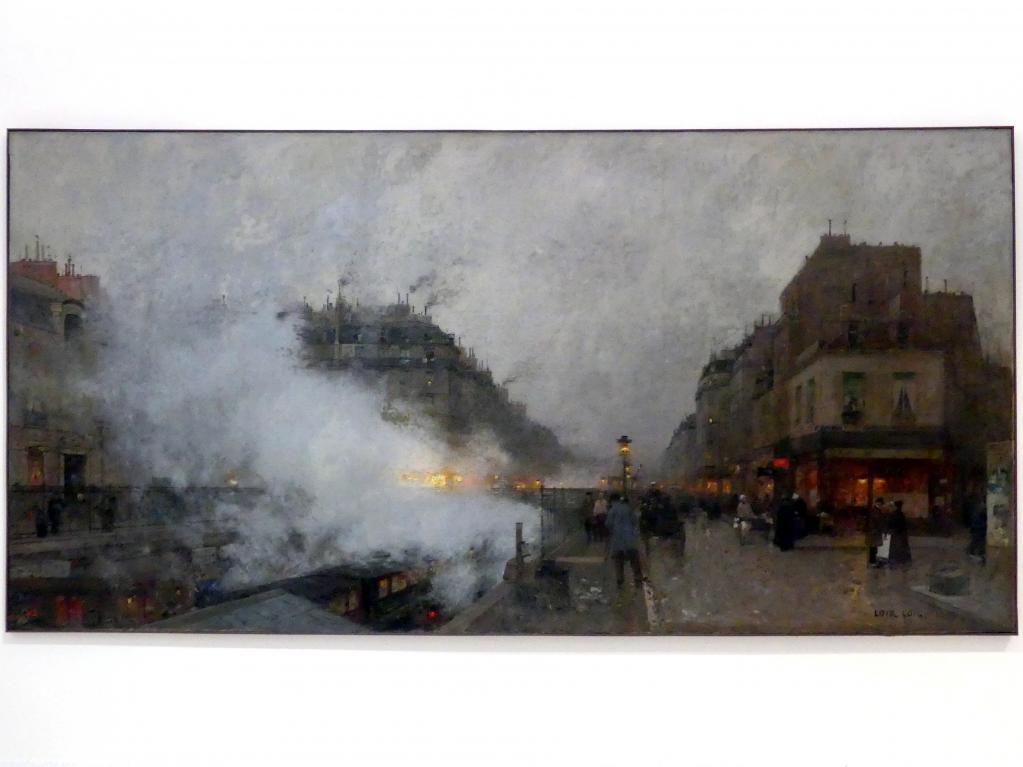 Luigi Loir: U-Bahn, 1899