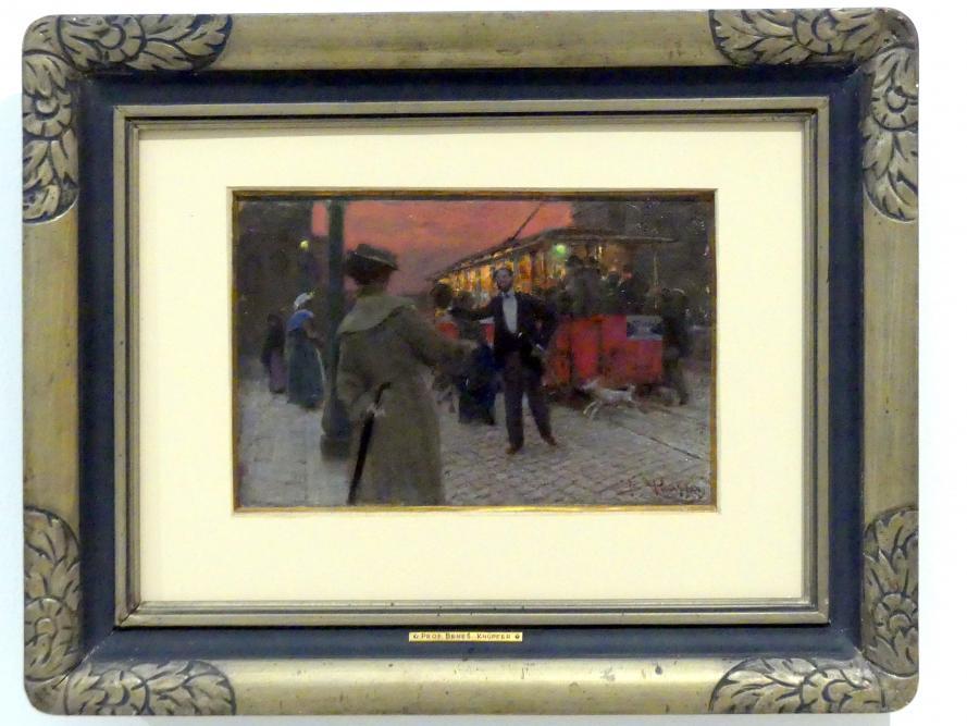 Beneš Knüpfer: Römische Straßenbahn, 1905