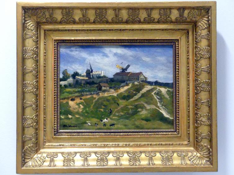 Antonín Chittussi: Montmartre, um 1880 - 1884