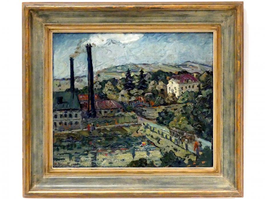 Willi Nowak: Fabrik, 1906