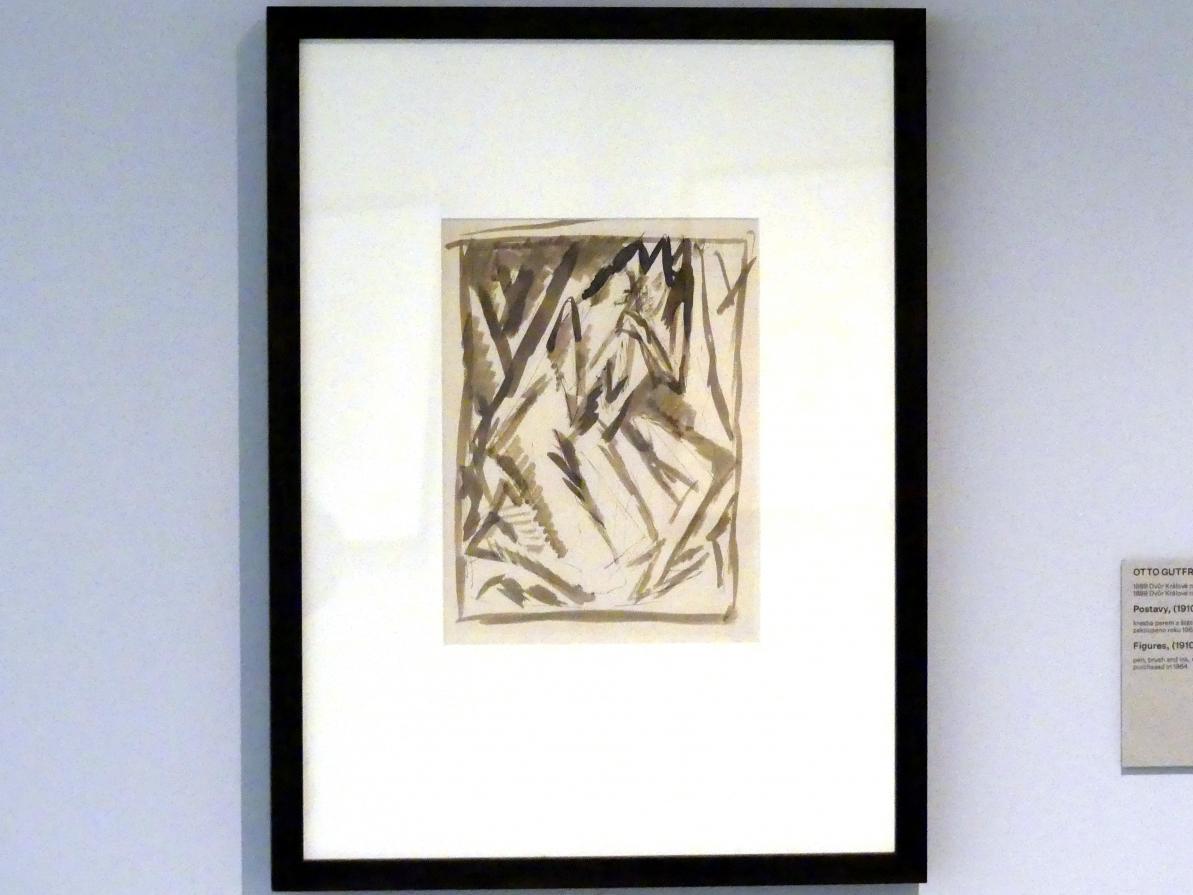 Otto Gutfreund: Figuren, 1910 - 1911