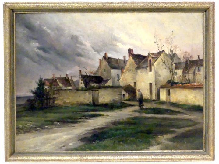 Zdenka Braunerová: Samois-sur-Seine nach dem Regen, 1887
