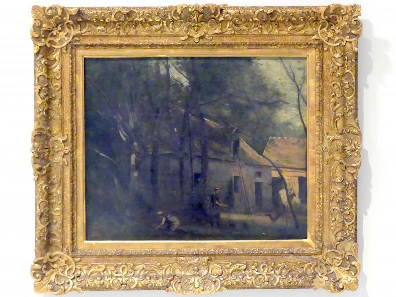 Jean-Baptiste Camille Corot: Bauernhaus im Wald, 1873