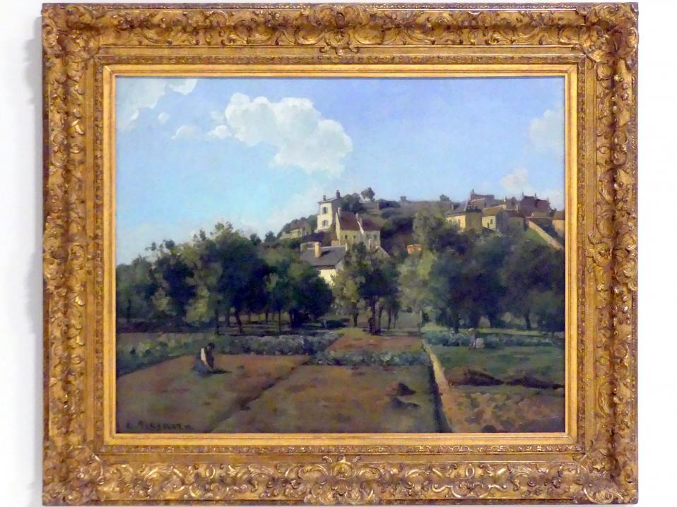 Camille Pissarro: Pontoise, 1867