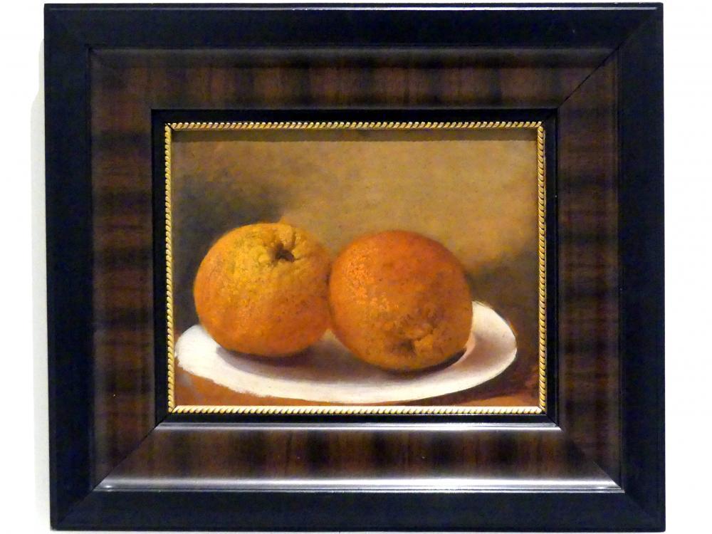 Josef Navrátil: Stillleben mit Orangen, nach 1850