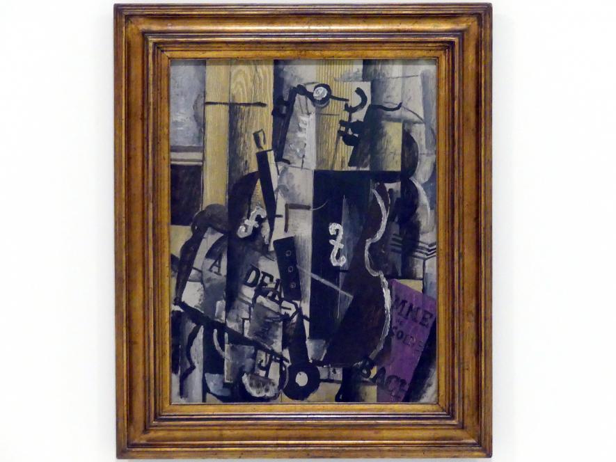 Georges Braque: Violine und Klarinette, 1912