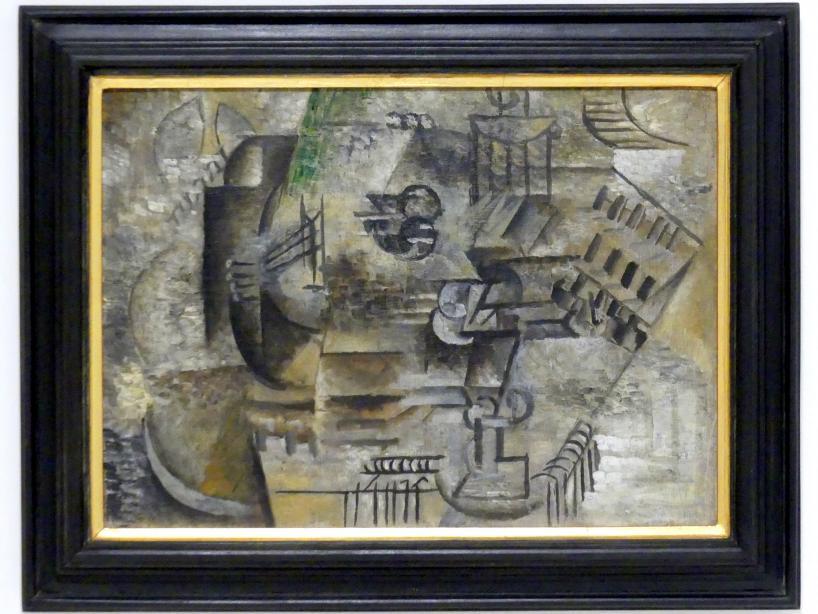 Pablo Picasso: Mandoline und ein Glas Pernod, 1911