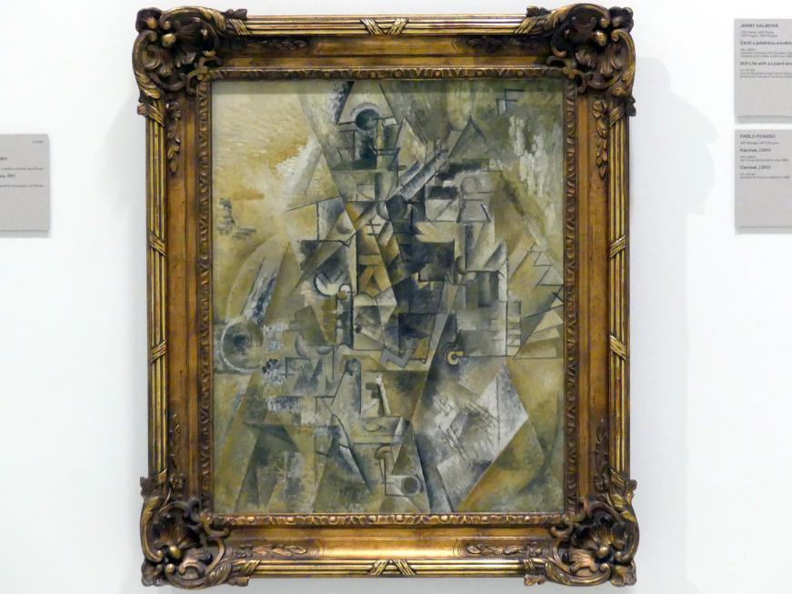 Pablo Picasso: Klarinette, 1911