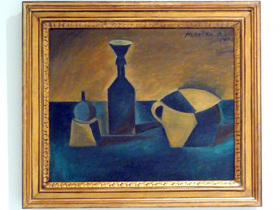 Bohumil Kubišta: Stillleben mit Trichter, 1910