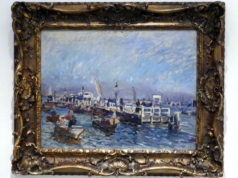 Max Slevogt: Hafen (Brücke), 1905