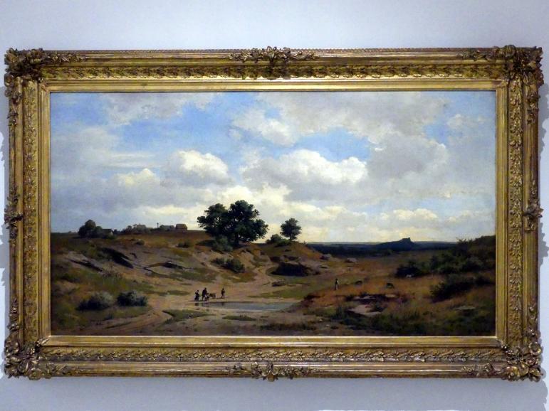 Adolf Kosárek: Böhmische Landschaft, 1858
