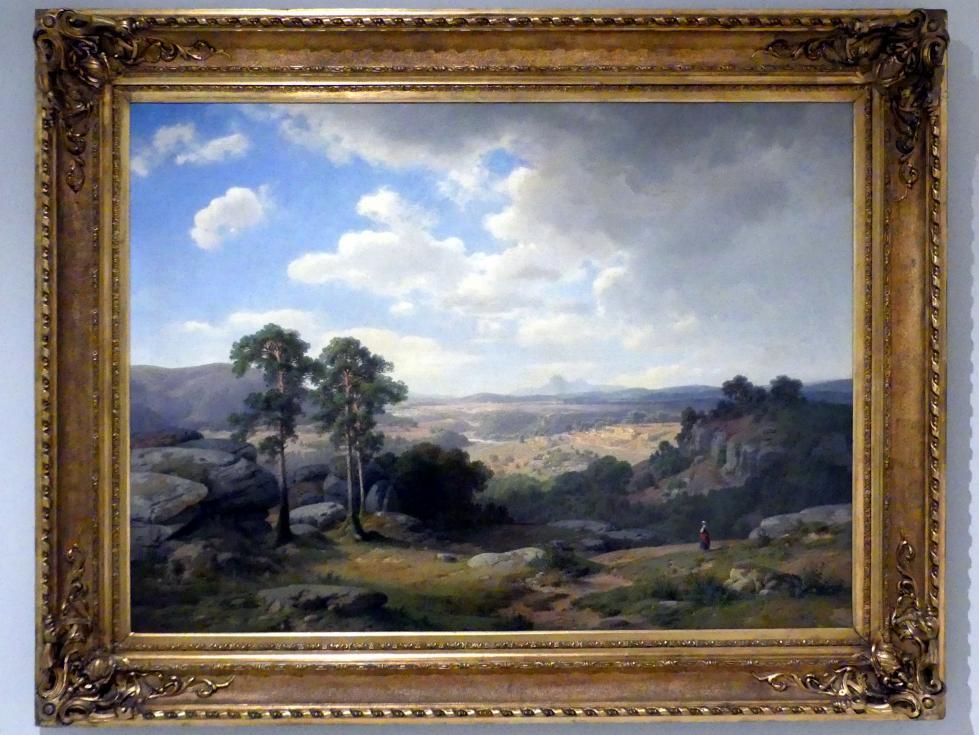 Alois Bubák: Sommernachmittag, 1863