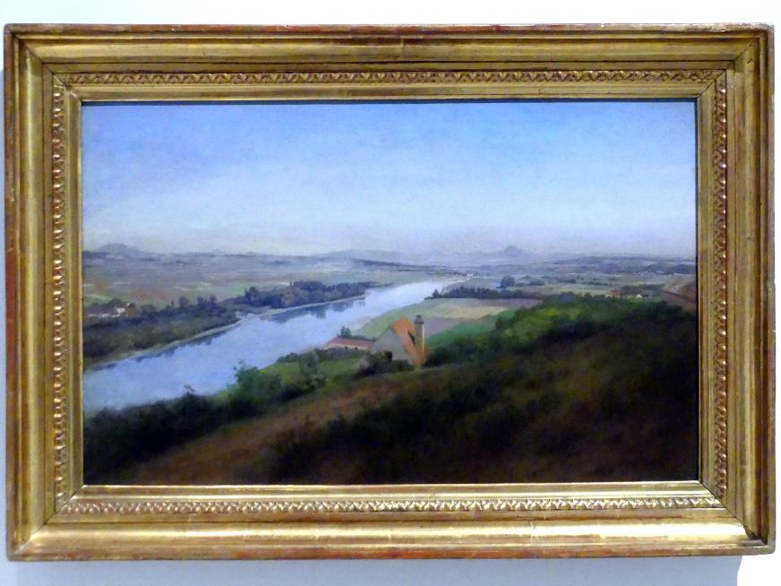 Josef Mánes: Landschaft bei Říp, 1863