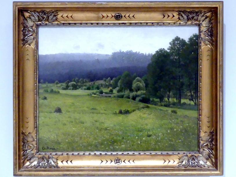 Antonín Chittussi: Das Chrudimka-Tal, 1887