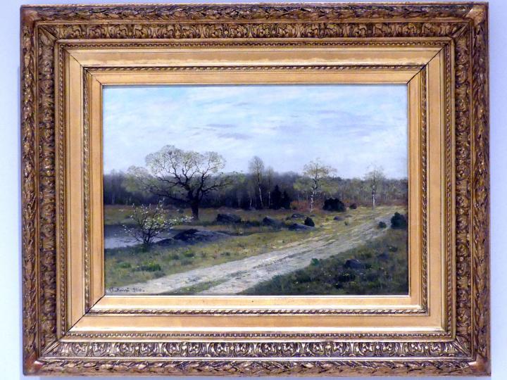 Antonín Chittussi: Frühling in Fontainebleau, 1886