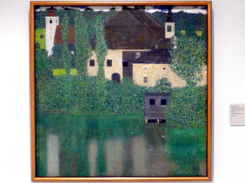 Gustav Klimt: Wasserschloss, 1908 - 1909