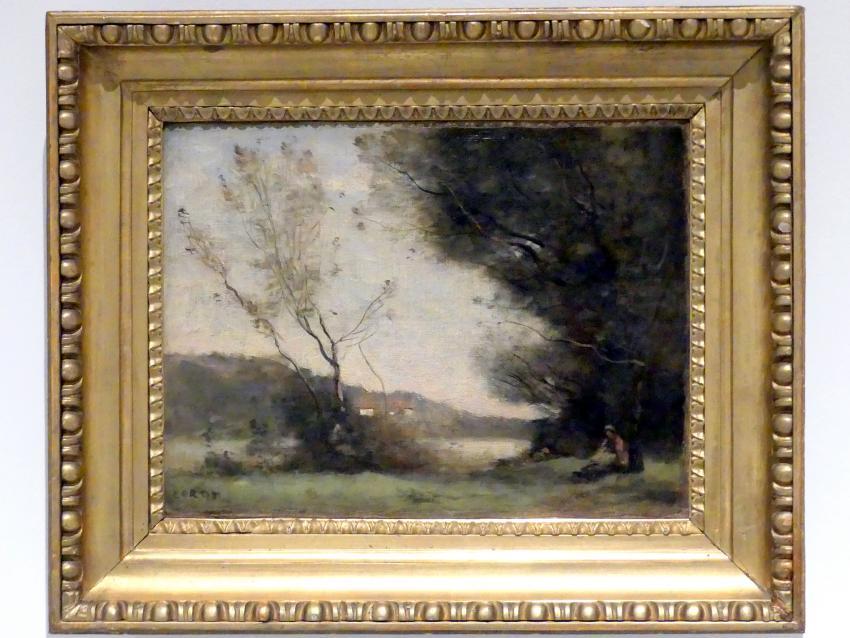 Jean-Baptiste Camille Corot: Am Fluss, um 1870 - 1875