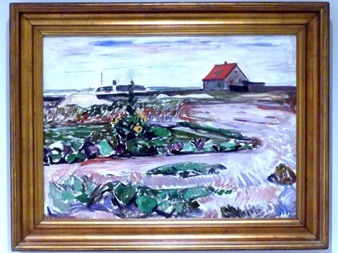Edvard Munch: Strand bei Lübeck, 1907