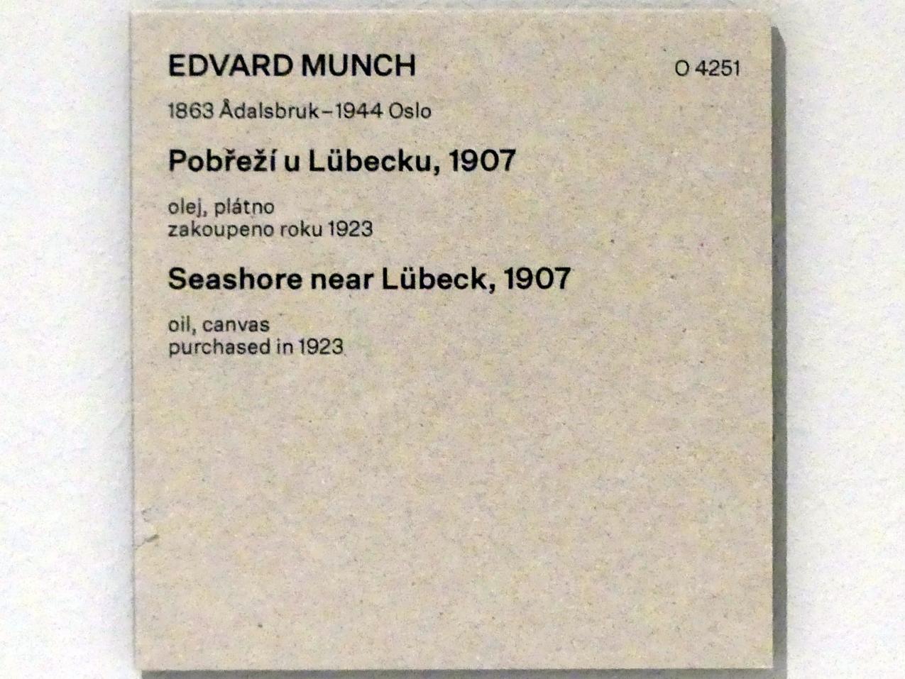 Edvard Munch: Strand bei Lübeck, 1907, Bild 2/2