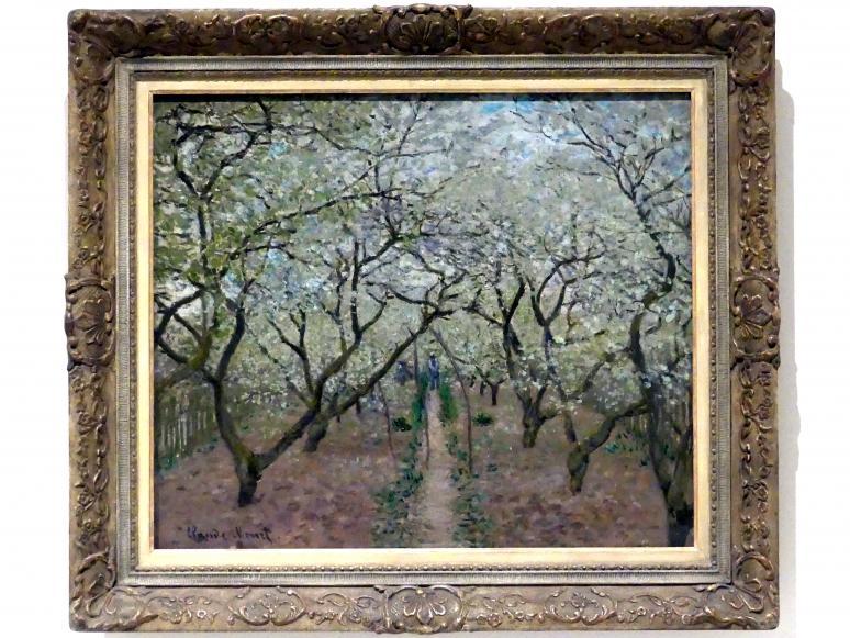 Claude Monet: Blühender Obstgarten, 1879