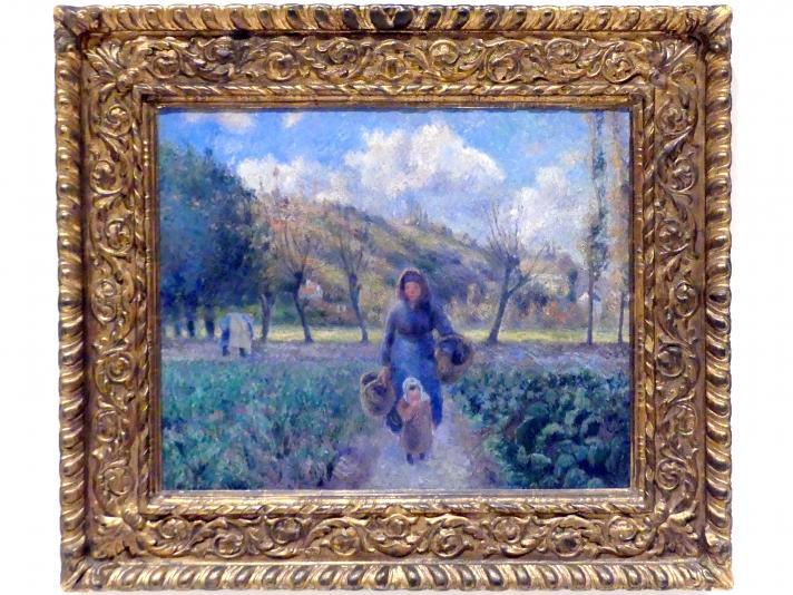 Camille Pissarro: Im Obstgarten, 1881