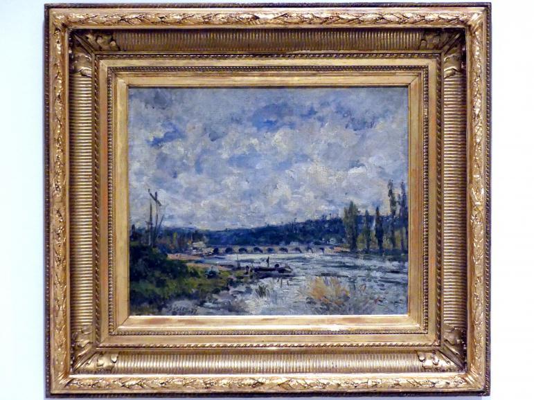 Alfred Sisley: Brücke in Sèvres, 1877