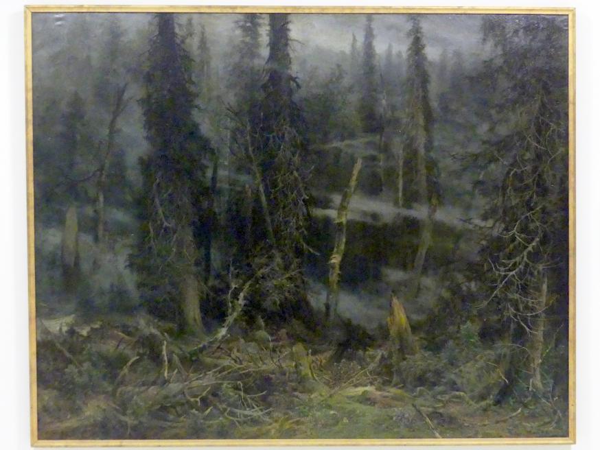 Julius Mařák: Urwald in Šumava nach einem Sturm, 1891 - 1892