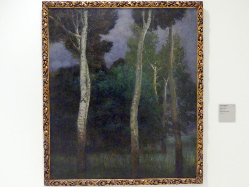 Eduard Ameseder: Vor dem Sturm, 1905