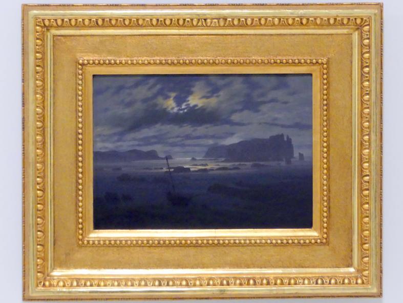 Caspar David Friedrich: Die Nordsee bei Mondschein, 1823 - 1824