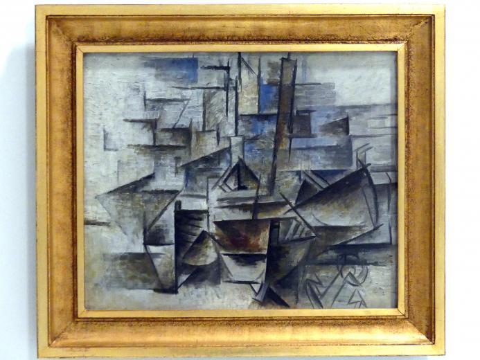 Pablo Picasso: Der Hafen von Cadaqués, 1910