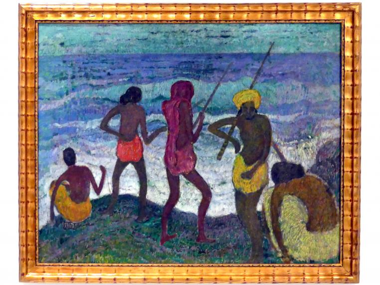 Otakar Nejedlý: Fischfang, um 1909