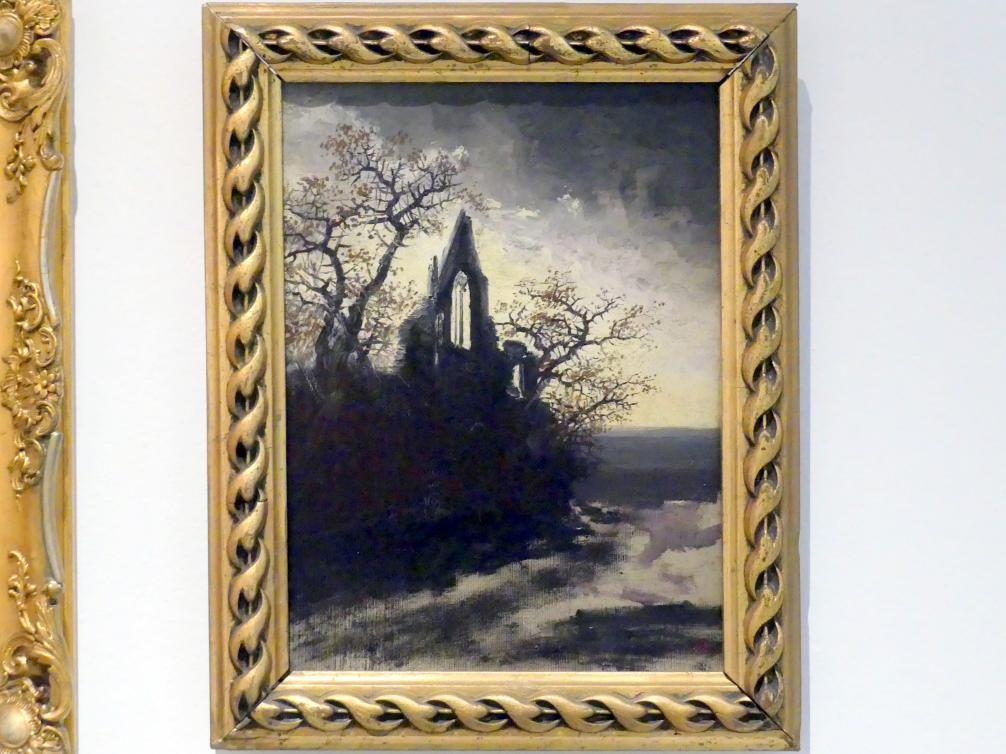 Anton Waldhauser: Gothische Ruinen, um 1860 - 1870