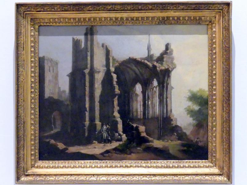Ludwig Kohl: Tempelruine, 1820