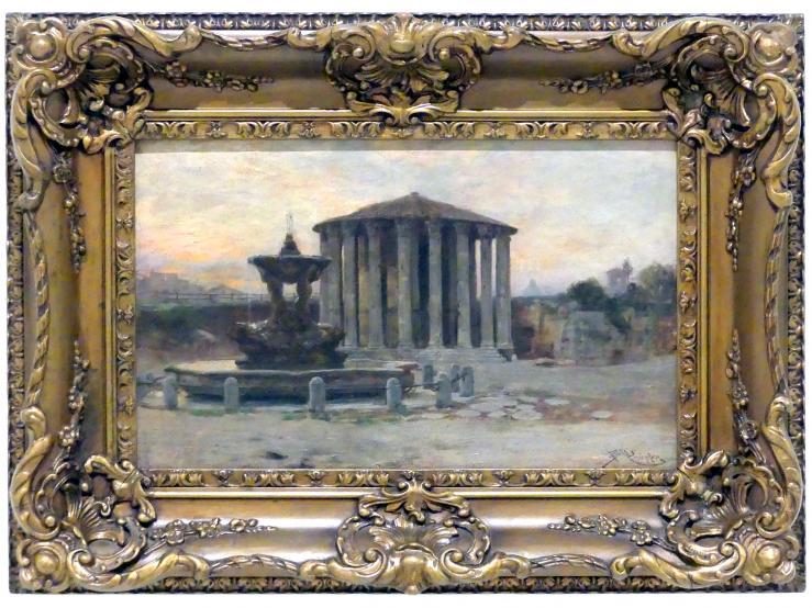 Beneš Knüpfer: Der Tempel der Vesta in Rom, um 1890 - 1895