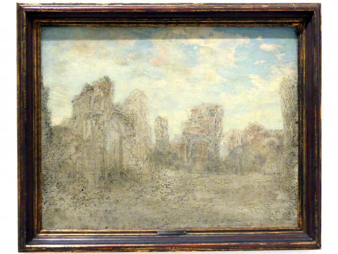 Josef Mánes: Römische Ruinen, 1870
