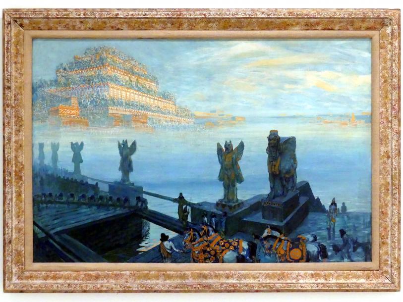 František Kupka: Babylon, 1906