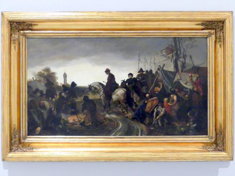 Mikoláš Aleš: Hussitenlager, 1877
