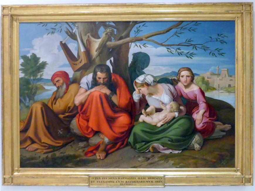 Joseph von Führich: Die trauernden Juden, 1837