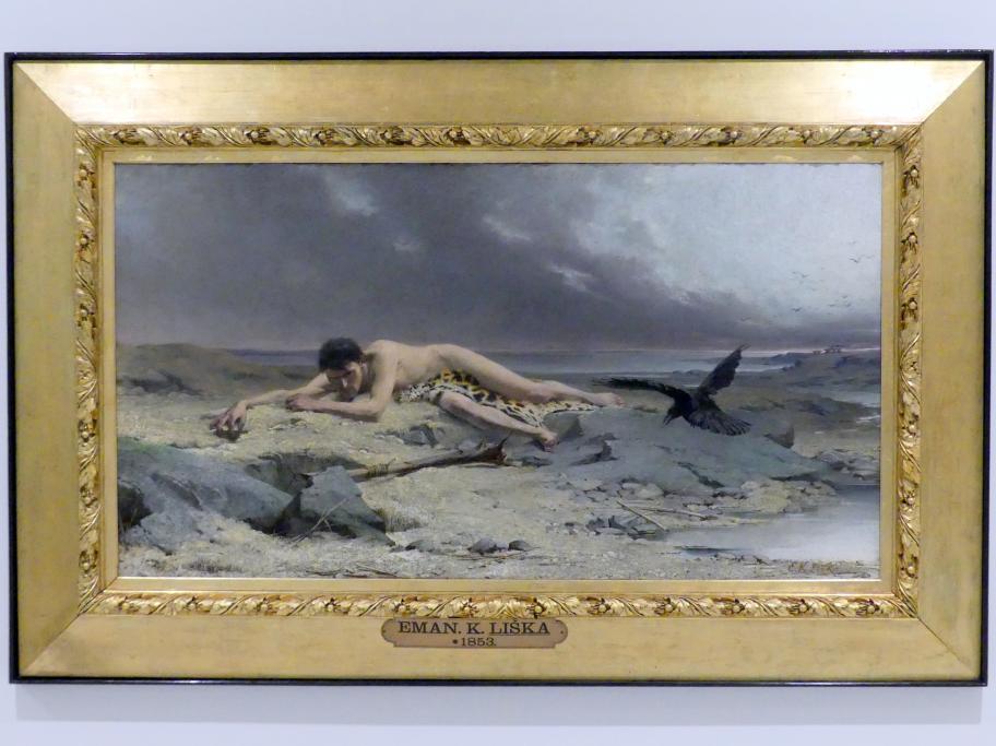 Emanuel Krescenc Liška: Kain, 1885