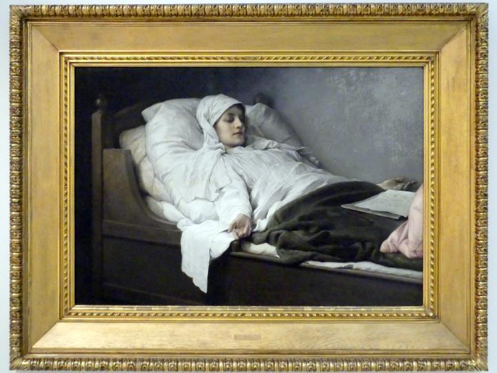Gabriel von Max: Die Seherin von Prevorst in Ekstase, 1892