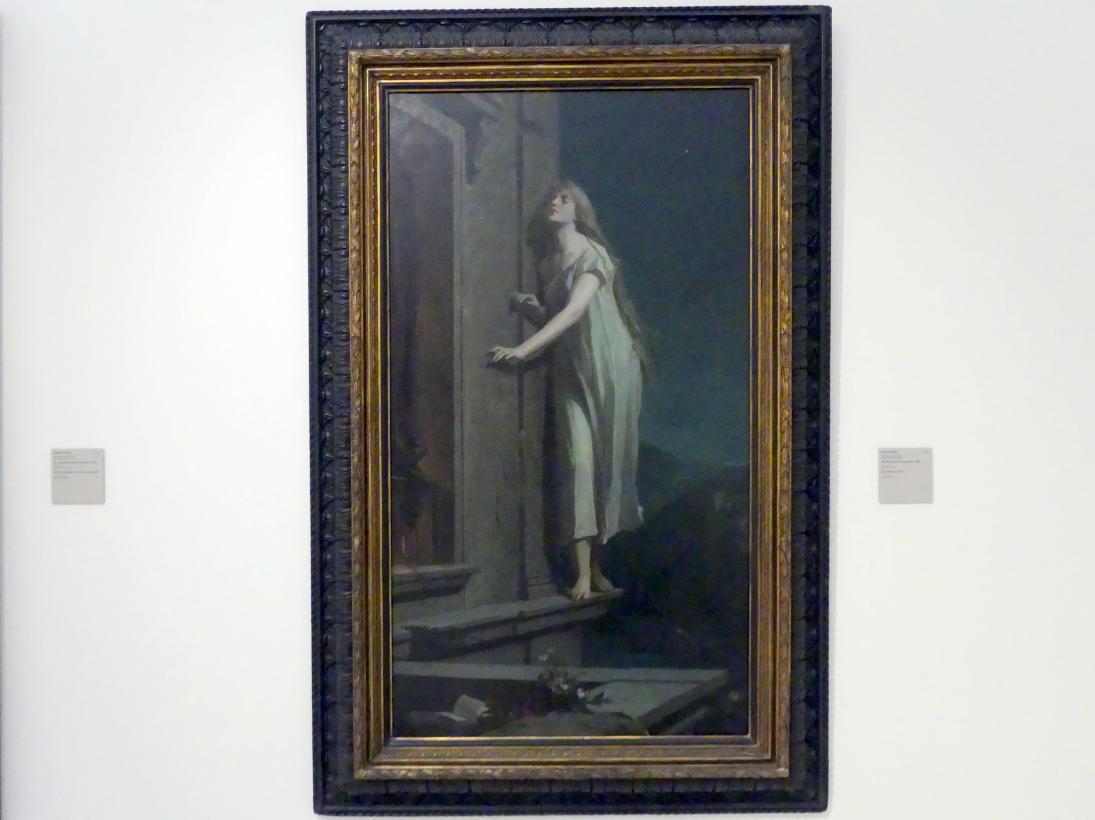 Maxmilián Pirner: Schlafwandlerin (La sonnambula), 1878