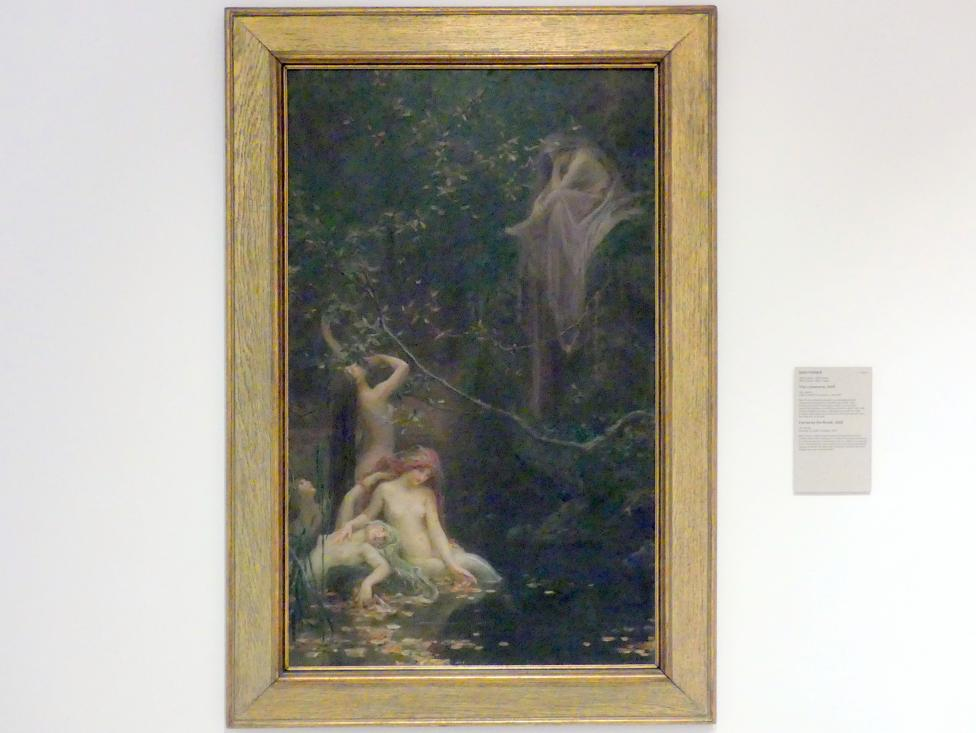 Maxmilián Pirner: Feen am Bach, 1895