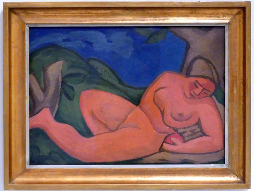 Václav Špála: Eva und der Apfel, 1911 - 1912