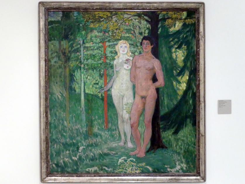 Jan Preisler: Adam und Eva, 1908