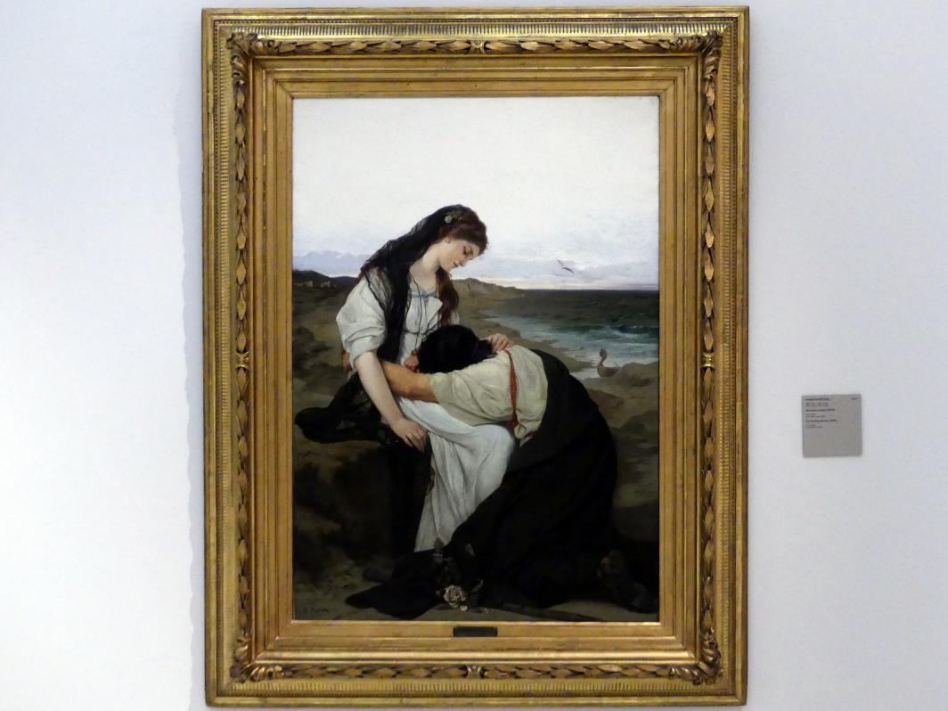 Hans Knöchl: An der Küste, 1879