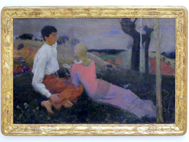 Jan Preisler: Gemälde aus einem größeren Zyklus, 1902